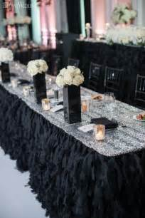 black decorations best 25 black wedding decor ideas on