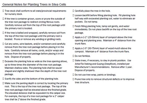 Tree Planters Notes by Proper Tree Installation Maintenance Your