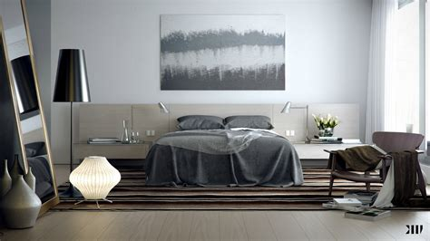 Decorating With Gray And Brown by Grey Brown White Bedroom Scheme Interior Design Ideas