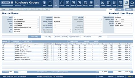 filemaker purchase order template filemaker business templates jobpro central features