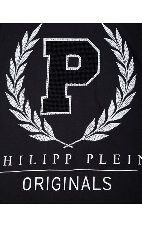 philipp plein kids wisteria black  shirt philipp