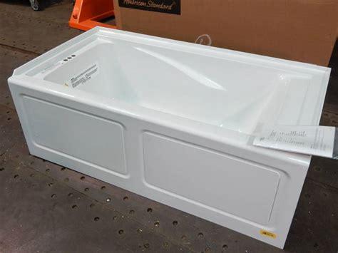 deep 5 foot bathtub american standard 2425v lho002 020 evolution 5 feet by 32