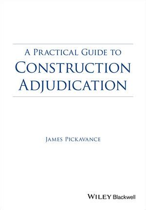 in or out a practical guide to decision books wiley a practical guide to construction adjudication