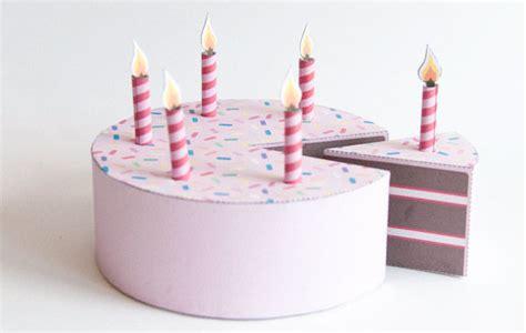 Cake Papercraft - paper birthday cake 6