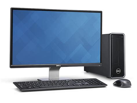 Small Desk Top by Dell Inspiron Small Desktop 3000 Review Computer Shopper