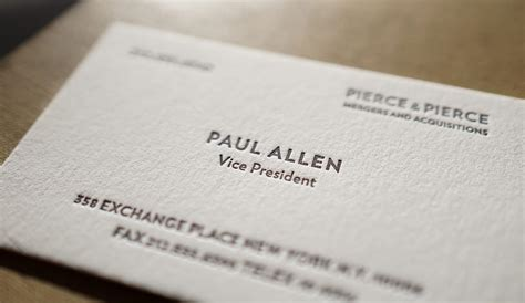Paul Allen Business Card the improved paul allen hoban cards