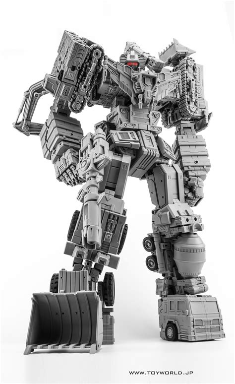 ToyWorld Constructicons Prototype Images - Transformers