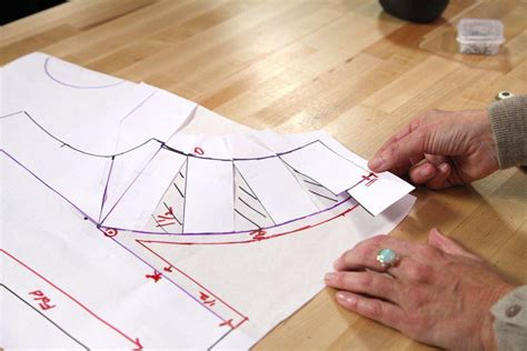 pattern making tips how to manipulate darts on a bodice to make princess seams