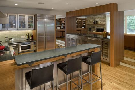 kitchen bar counter Kitchen Traditional with breakfast bar brick flooring   beeyoutifullife.com