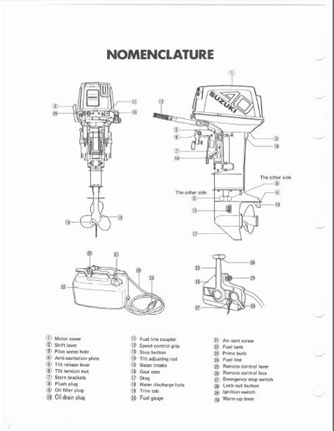 suzuki df140 wiring harness diagram suzuki dt140 wiring