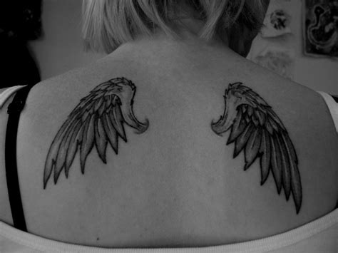 angel wings back tattoo wing tattoos designs ideas and meaning tattoos