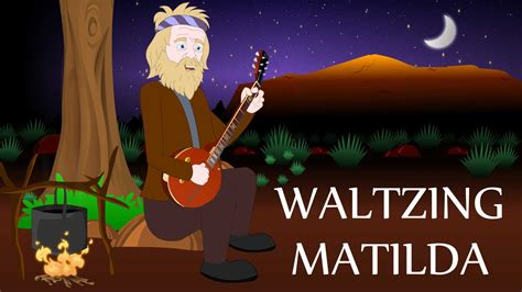 waltzing matilda australian nursery rhymes and songs
