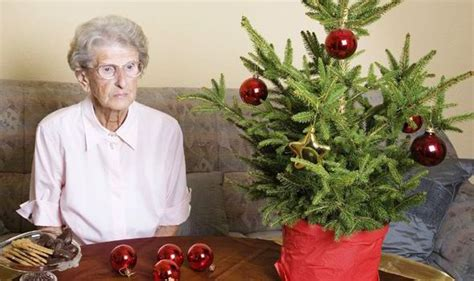 christmas elderly half a million elderly spend day alone say charities uk news express co uk