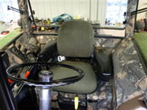 tractor cab upholstery kits camouflage cab kits a new option to personalize your