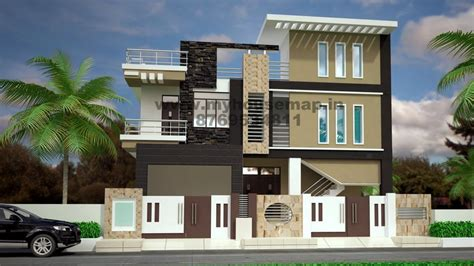 Exterior Home Design For Small House In India Modern Elevation Design Of Residential Buildings House
