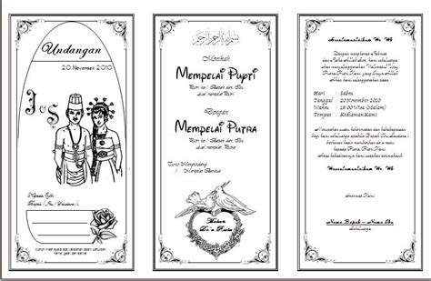 membuat oralit sederhana membuat undangan pernikahan sederhana