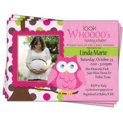owl themed baby shower invitations template best template collection