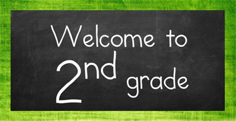 2nd grade 2nd grade welcome