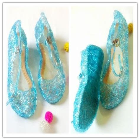 diy elsa shoes frozen shoes elsa and light blue on