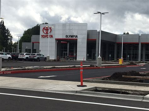 Toyota Olympia Toyota Of Olympia Opens Tumwater Location To Better Serve