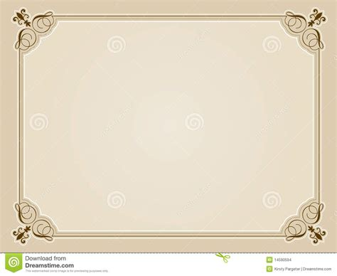 certificate design blank blank certificate background stock images image 14590594