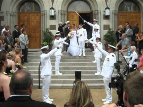 Wedding Arch Navy by Navy Wedding Arch Of Swords Nick Melanie Sword Arch