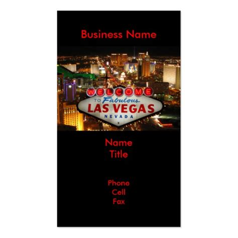 Business Cards Las Vegas
