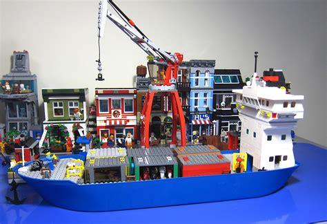 Lego Wange Two Door it s not lego lepin 02034 cargo port terminal building