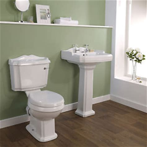Bestbathrooms by Traditional Basin And Toilet Bathroom Suite Set Wc 2 Tap