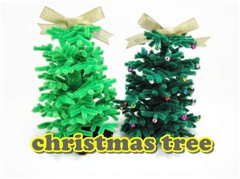 christmas craft chenille stem pipe cleaners christmas
