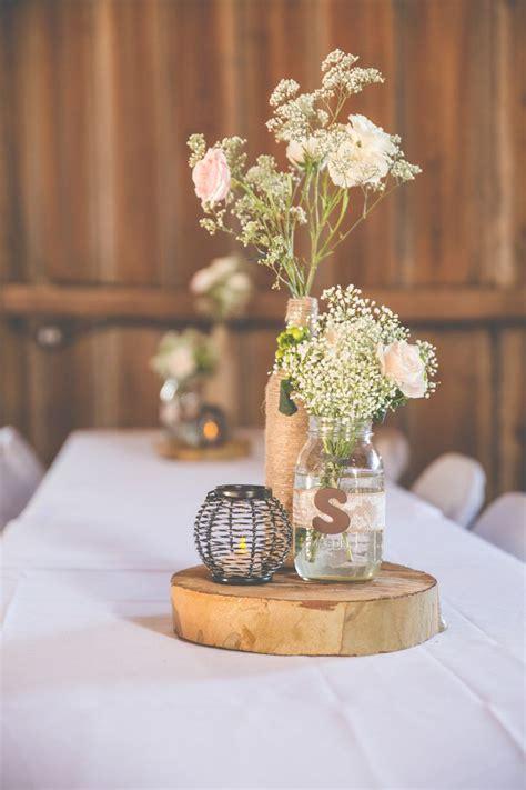 rustic wedding reception centerpieces 17 best ideas about jar centerpieces on jar center country wedding