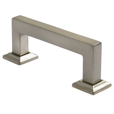 Square Drawer Pulls by Rusticware 993 Cabinet Hardware Modern Square Drawer Pull
