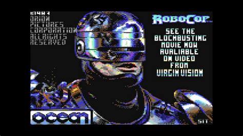 theme music robocop robocop game theme c64 commodore cbm64 classic retro video