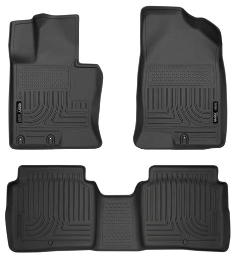 Kia Optima Floor Mats Husky Weatherbeater All Weather Floor Mats For 2011 2015