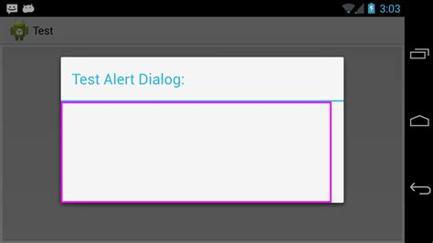 listview android dialogfragment doesn t wrap content java alertdialog with custom view resize to wrap the
