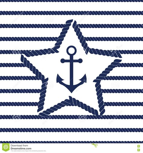 navy pattern vector set of sea and nautical seamless patterns vector