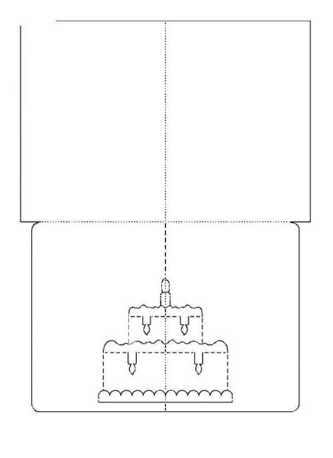 Pop Up Birthday Card Templates Free Wonderful Diy 3d Kirigami Cards With 18 Templates