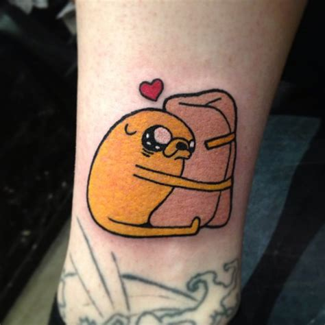 charming exles of adventure time tattoos