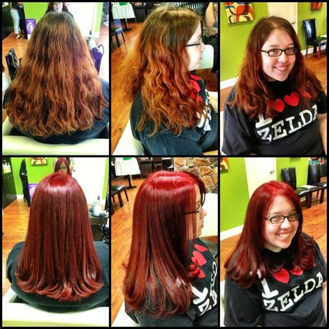 before and after hair color and cut makeover light before and after color and cut makeover by designer holly