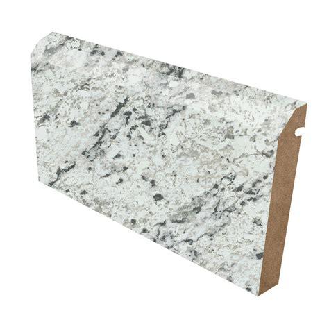 ogee edge laminate countertop trim white granite