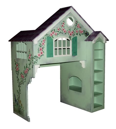 dollhouse loft bed dollhouse loft bed themed beds by tanglewood design