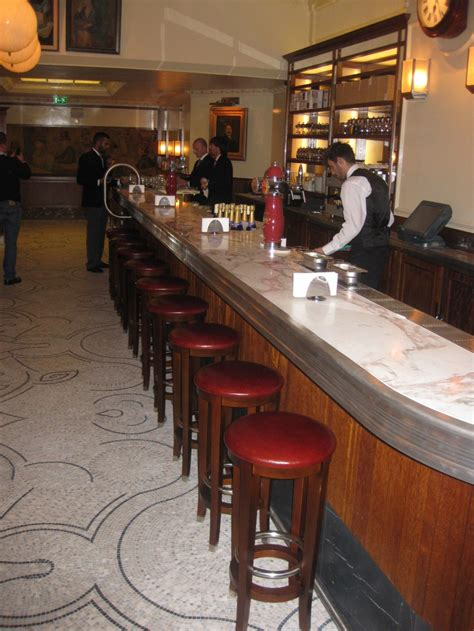 Pewter Bar Top by Iroko Bar Edmonds