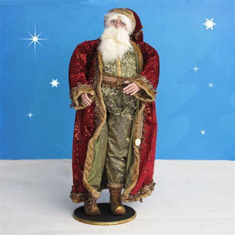 4 foot santas vintage santa in resin and fabric 4 ft scale
