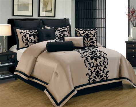 black and comforter set white and gold white and gold king size bedding