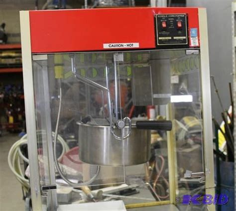 popcorn machine echols corn popper year