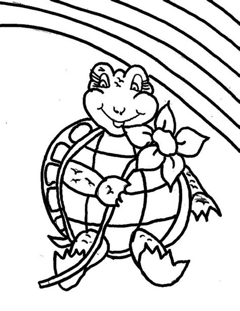 turtle love coloring pages turtle carrying a flower coloring page love coloring