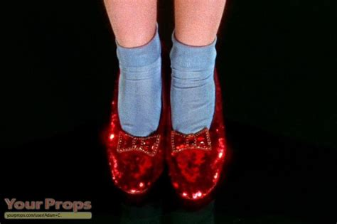 ruby slippers dorothy the wizard of oz dorothy s ruby slippers replica prop