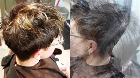 how to highlight a pixie cut highlights on pixie youtube