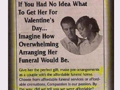 worst valentines day gifts  lds smile