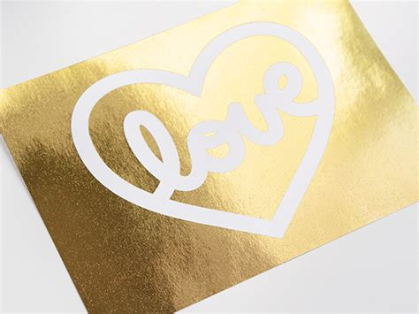 Gold Foil Print by Diy Gold Foil Printing Free Tutorial Template On Craftsy